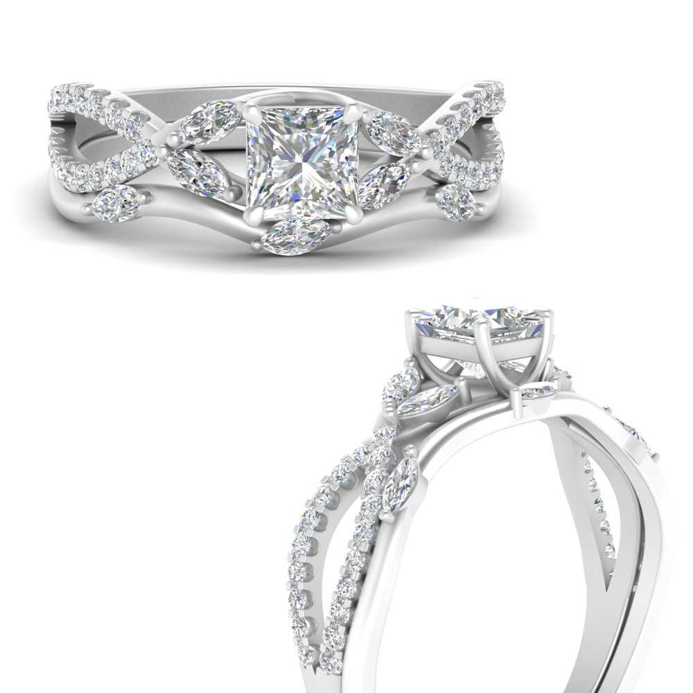 vine-willow-princess-cut-diamond-ring-with-willow-wedding-set-in-FDENR3211BPRANGLE3-NL-WG