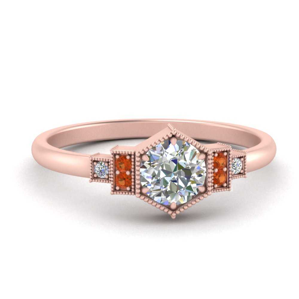 milgrain-hexagon-diamond-engagement-ring-with-orange-sapphire-in-FDENR3218RORGSAOR-NL-RG