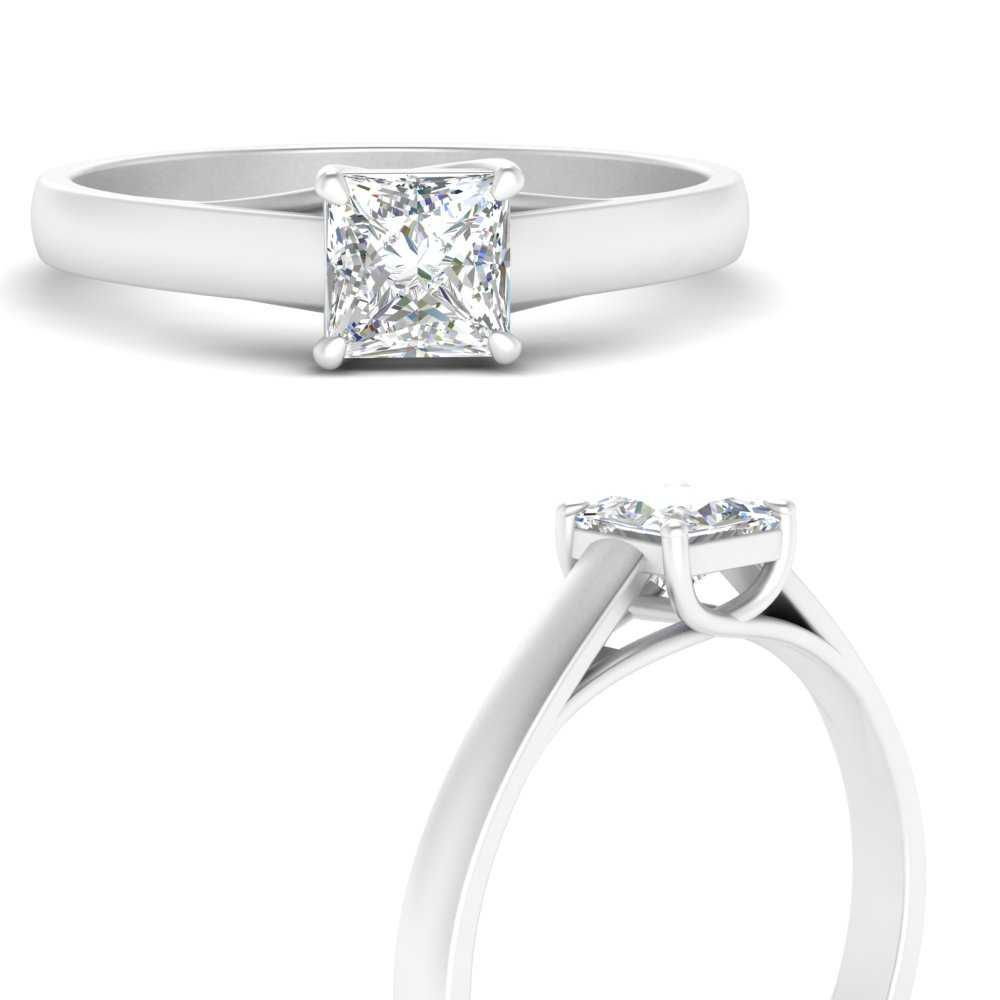 cathedral-flat-band-square-moissanite-engagement-ring-in-FDENR431PRRANGLE3-NL-WG