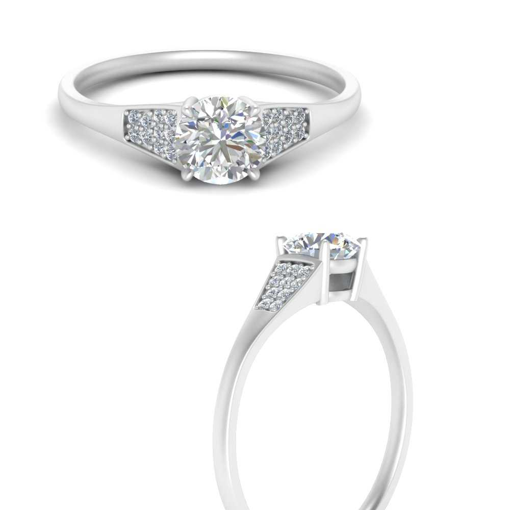 Pave-accented-round-lab diamond-engagement-ring-in-FDENR6171RORANGLE3-WG