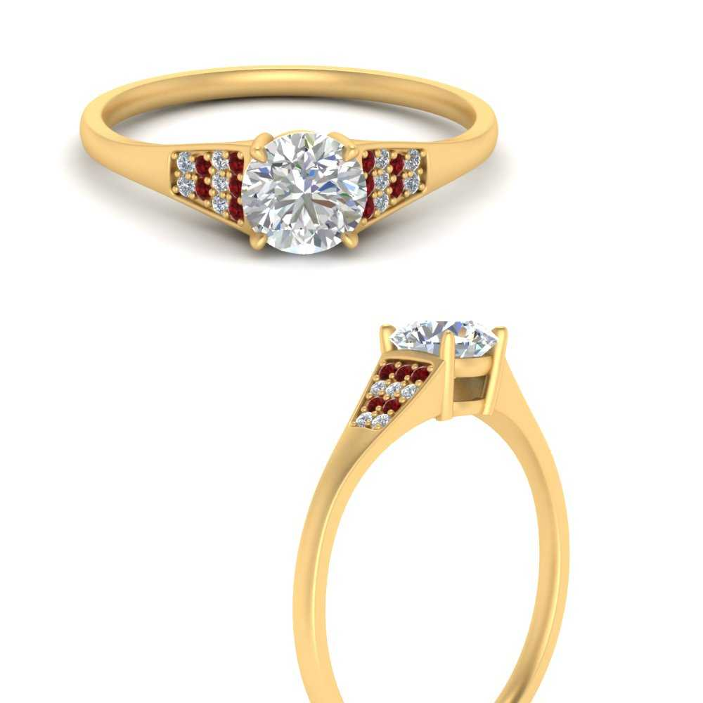pave-set-round-diamond-engagement-ring-with-ruby-in-FDENR6171RORGRUDRANGLE3-YG
