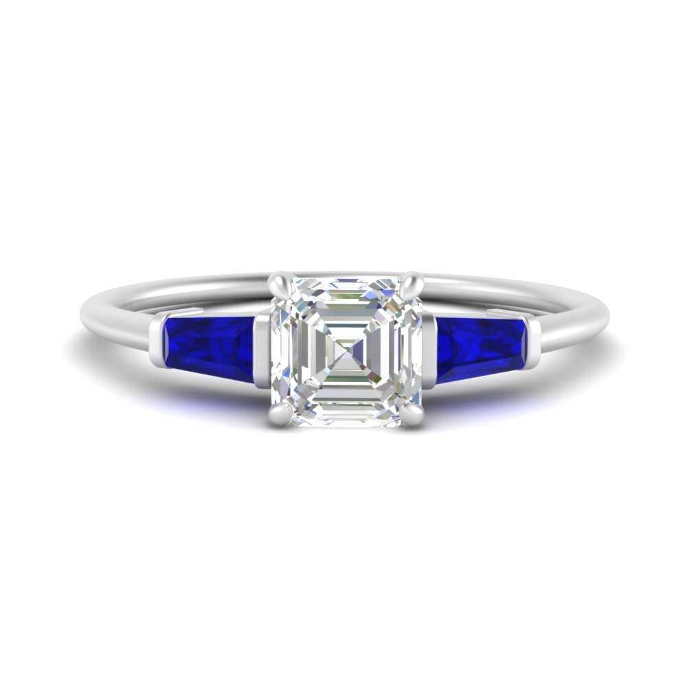 asscher-cut-bar-baguette-3-stone-sapphire-engagement-ring-in-FDENS100ASRGSABL-NL-WG
