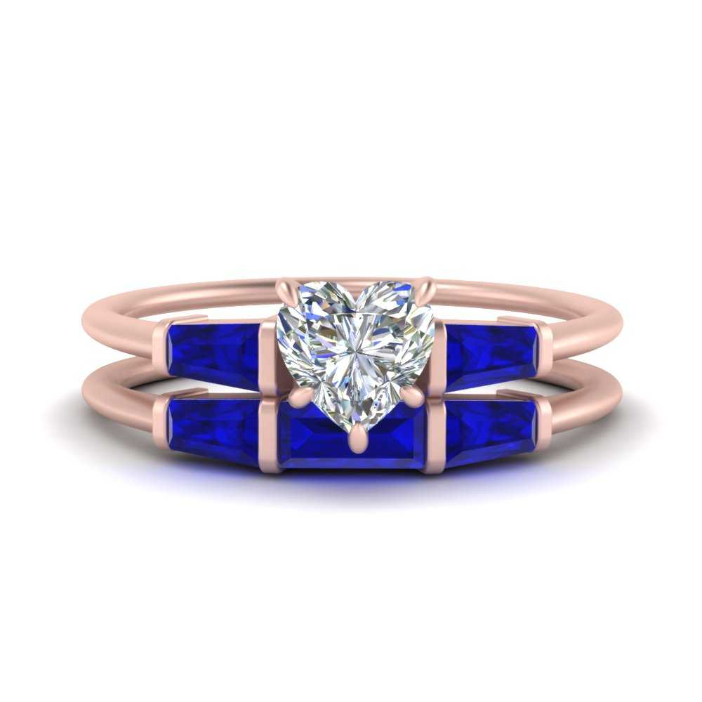 heart-shaped-bar-set-sapphire-ring-with-matching-3-baguette-wedding-band-in-FDENS100HTGSABL-NL-RG