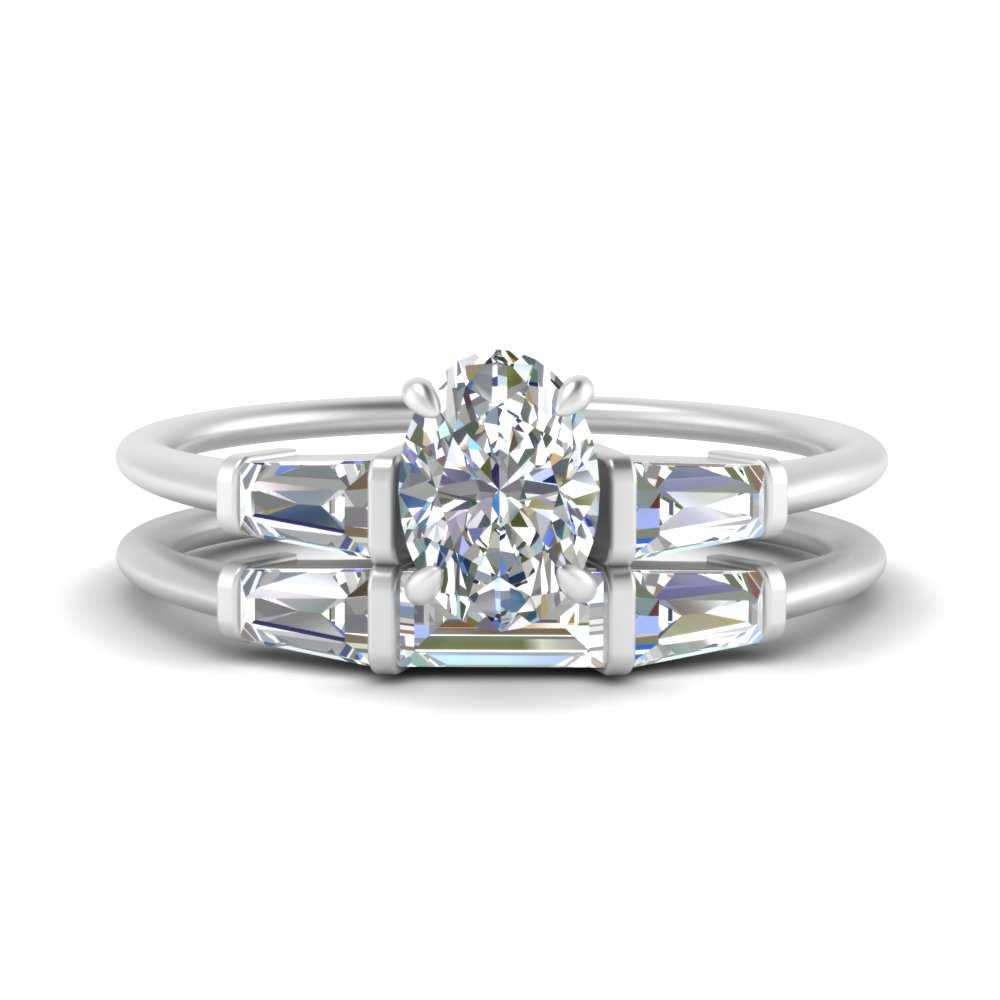 oval-shaped-bar-set-diamond-ring-with-matching-3-baguette-wedding-band-in-FDENS100OV-NL-WG