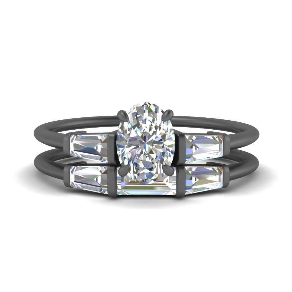 oval-shaped-three-stone-black-gold-baguette-bridal-ring-set-FDENS100OV-NL-BG