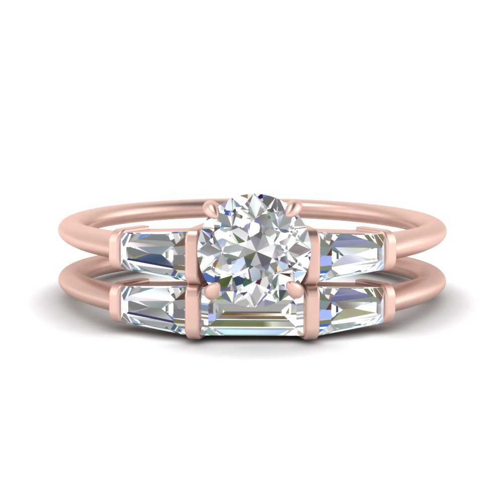 round-cut-bar-set-lab diamond-ring-with-matching-3-baguette-wedding-band-in-FDENS100RO-NL-RG