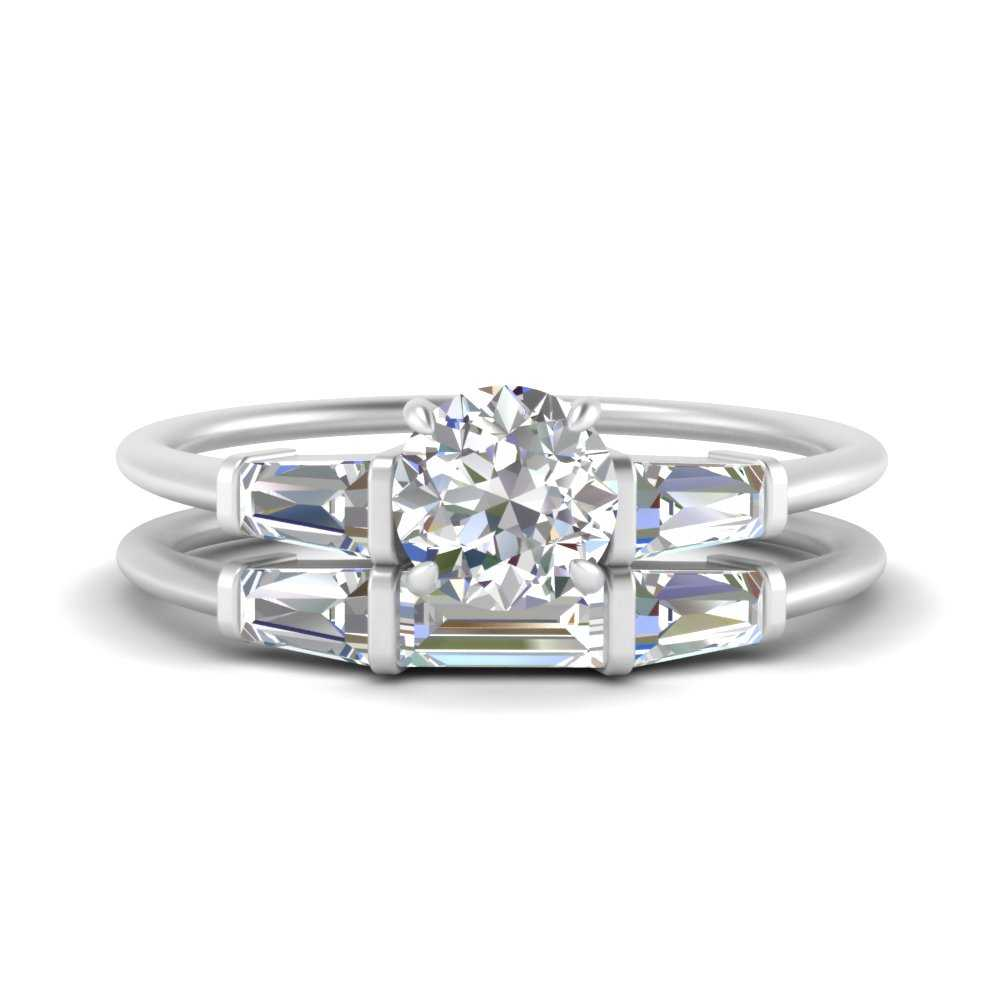 round-cut-bar-set-diamond-ring-with-matching-3-baguette-wedding-band-in-FDENS100RO-NL-WG