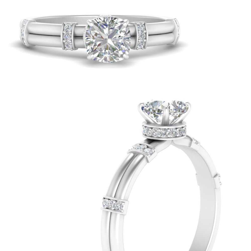 cushion-cut-lab diamond-double-row-ring-in-FDENS1157CURANGLE3-NL-WG