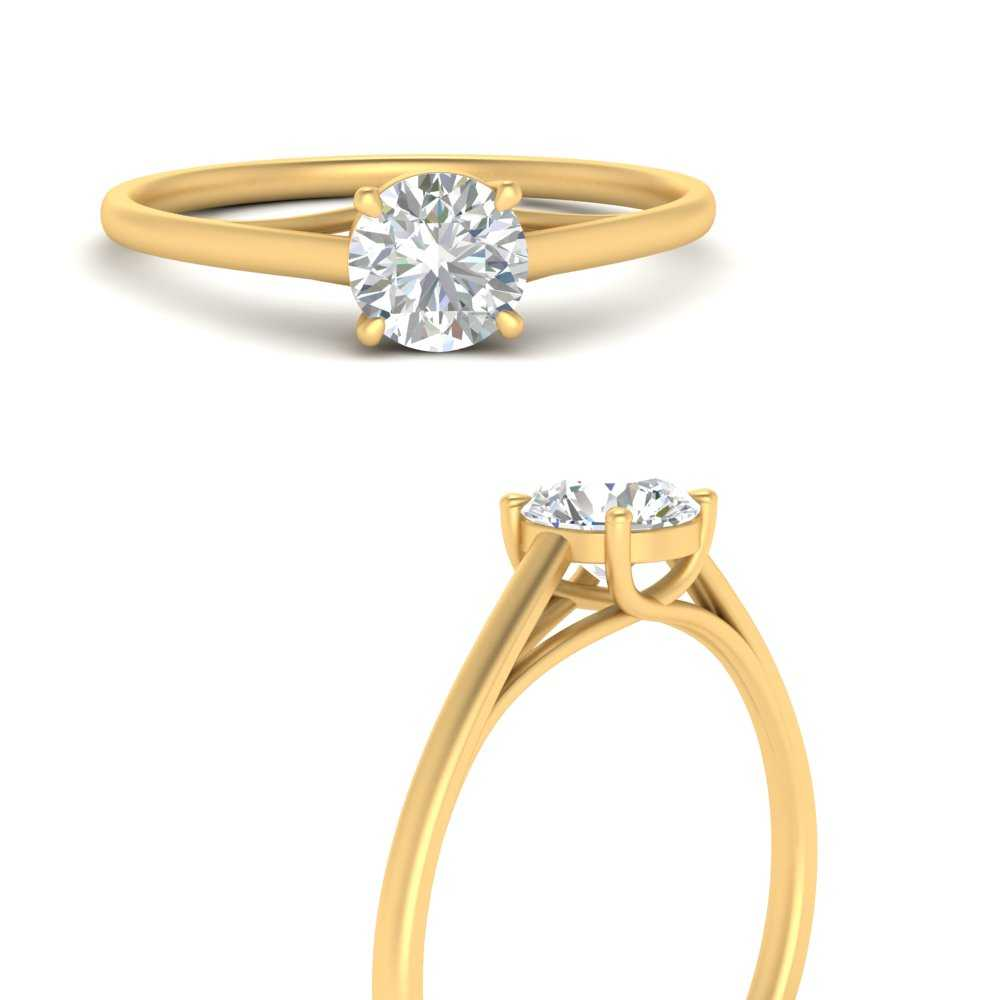 1-carat-thin-shank-solitaire-lab diamond-ring-in-FDENS1413RORANGLE3-NL-YG