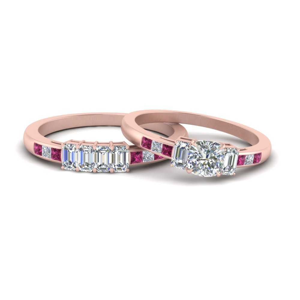 2.75-carat-pink-sapphire-channel-set-3-stone-wedding-ring-set-in-FDENS207CUGSADRPI-NL-RG