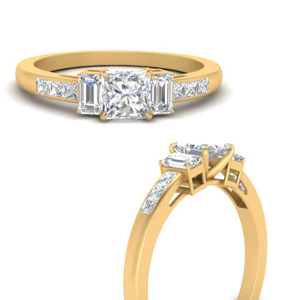channel-set-3-stone-princess-cut-engagement-ring-in-FDENS207PRRANGLE3-NL-YG