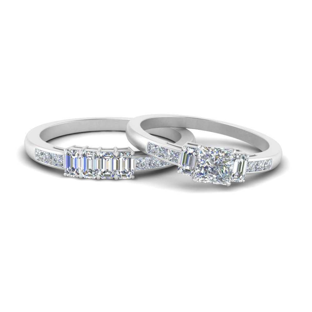 emerald-channel-set-princess-cut-wedding-ring-set-in-FDENS207PR-NL-WG