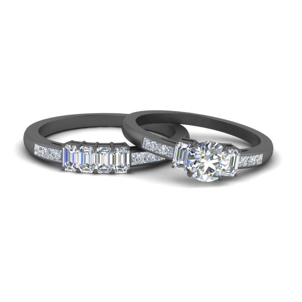 round-cut-diamond-black-gold-bridal-ring-set-FDENS207RO-NL-BG
