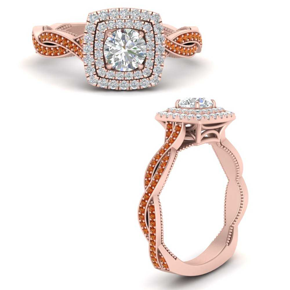 double-halo-twisted-shank-round-cut-orange-sapphire-engagement-ring-in-FDENS3203RORGSAORANGLE3-NL-RG-GS