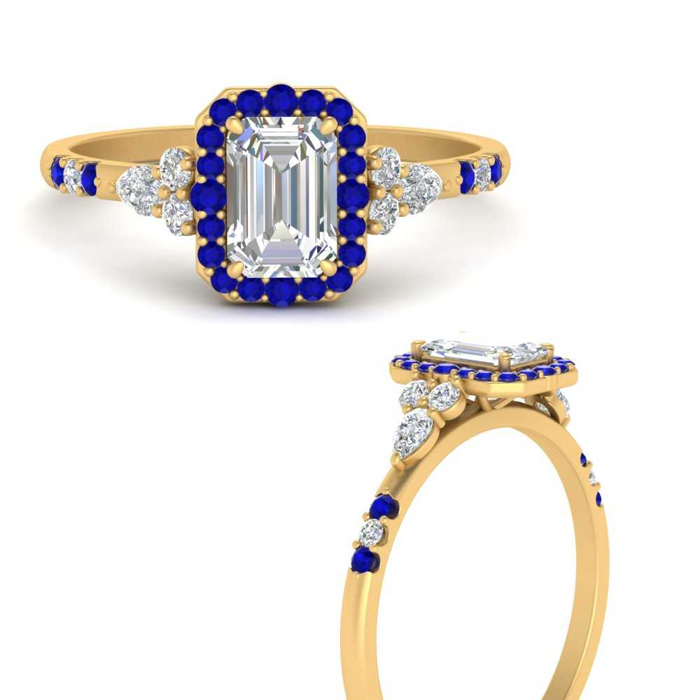 emerald-cut-halo-antique-diamond-engagement-ring-with-sapphire-in-FDENS3234EMRGSABLANGLE3-NL-YG