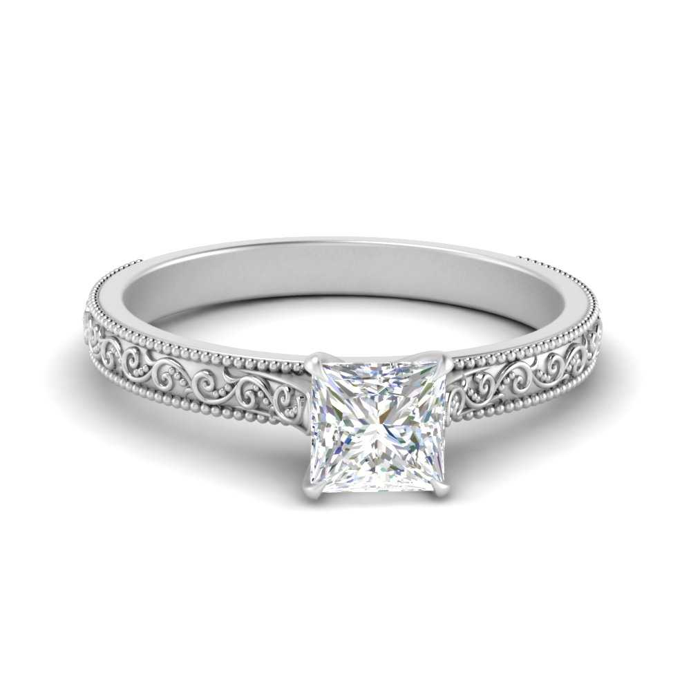 engraved-princess-cut-solitaire-engagement-ring-in-FDENS3602PRR-NL-WG
