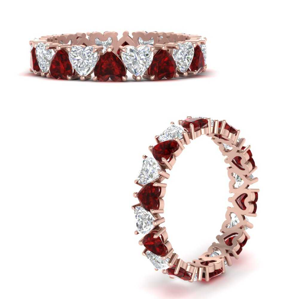 4-carat-heart-eternity-diamond-anniversary-band-with-ruby-in-FDEWB8439GRUDRANGLE3-NL-RG
