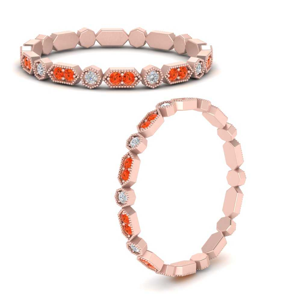 art-deco-thin-stacking-diamond-eternity-band-with-orange-topaz-in-FDEWB9594GPOTOANGLE3-NL-RG