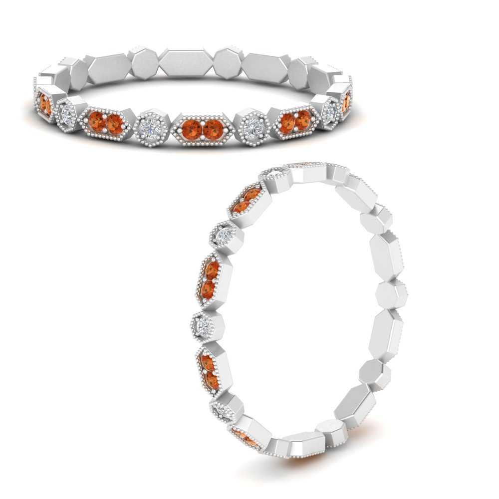 art-deco-thin-stacking-diamond-eternity-band-with-orange-sapphire-in-FDEWB9594GSAORANGLE3-NL-WG