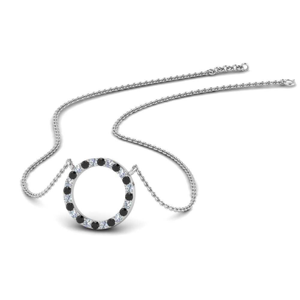 circle-necklace-for-her-with-black-diamond-in-FDPD1294GBLACK-NL-WG