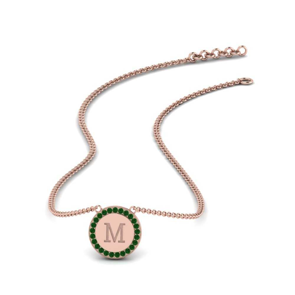 initial-engraved-emerald-disc-pendant-in-FDPD9527GEMGR-NL-RG