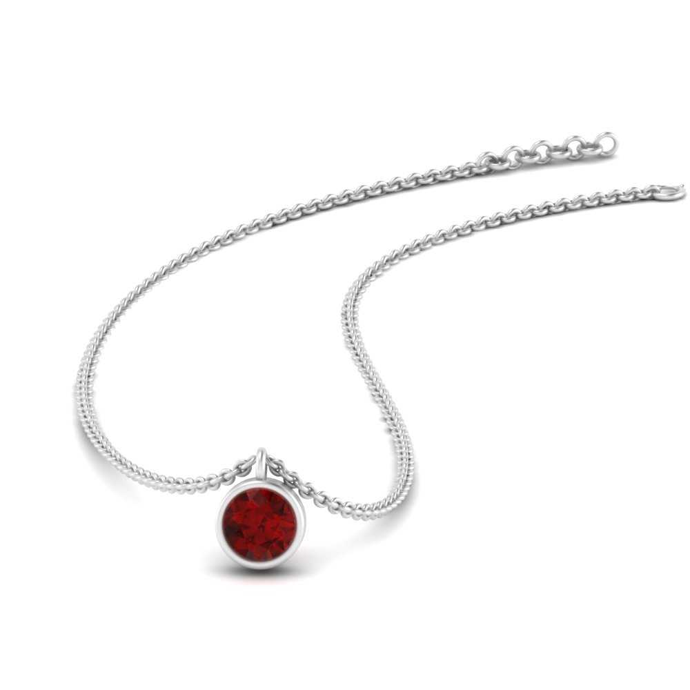 bezel-set-round-0.25-ct.-ruby-pendant-in-FDPD1089GRUDR-NL-WG