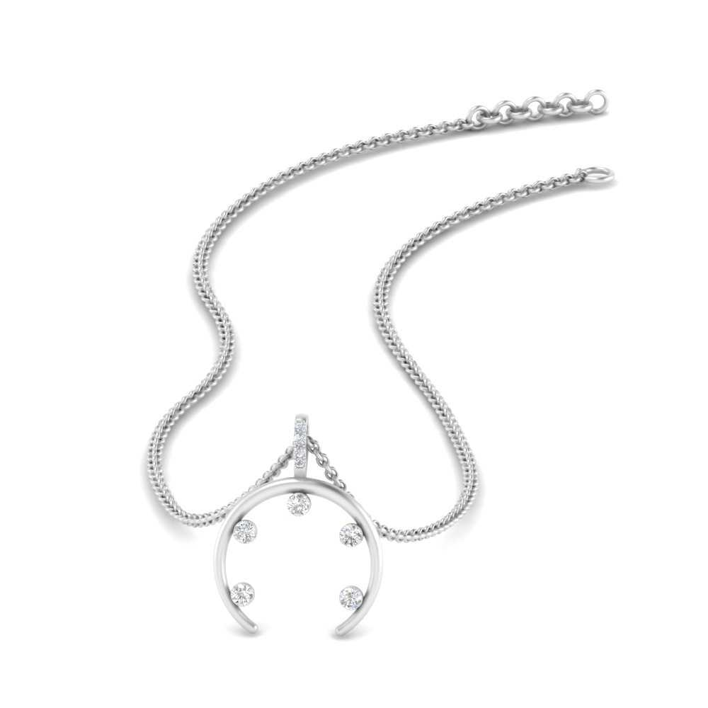 horn-5-prong-diamond-necklace-in-FDPD9041-NL-WG