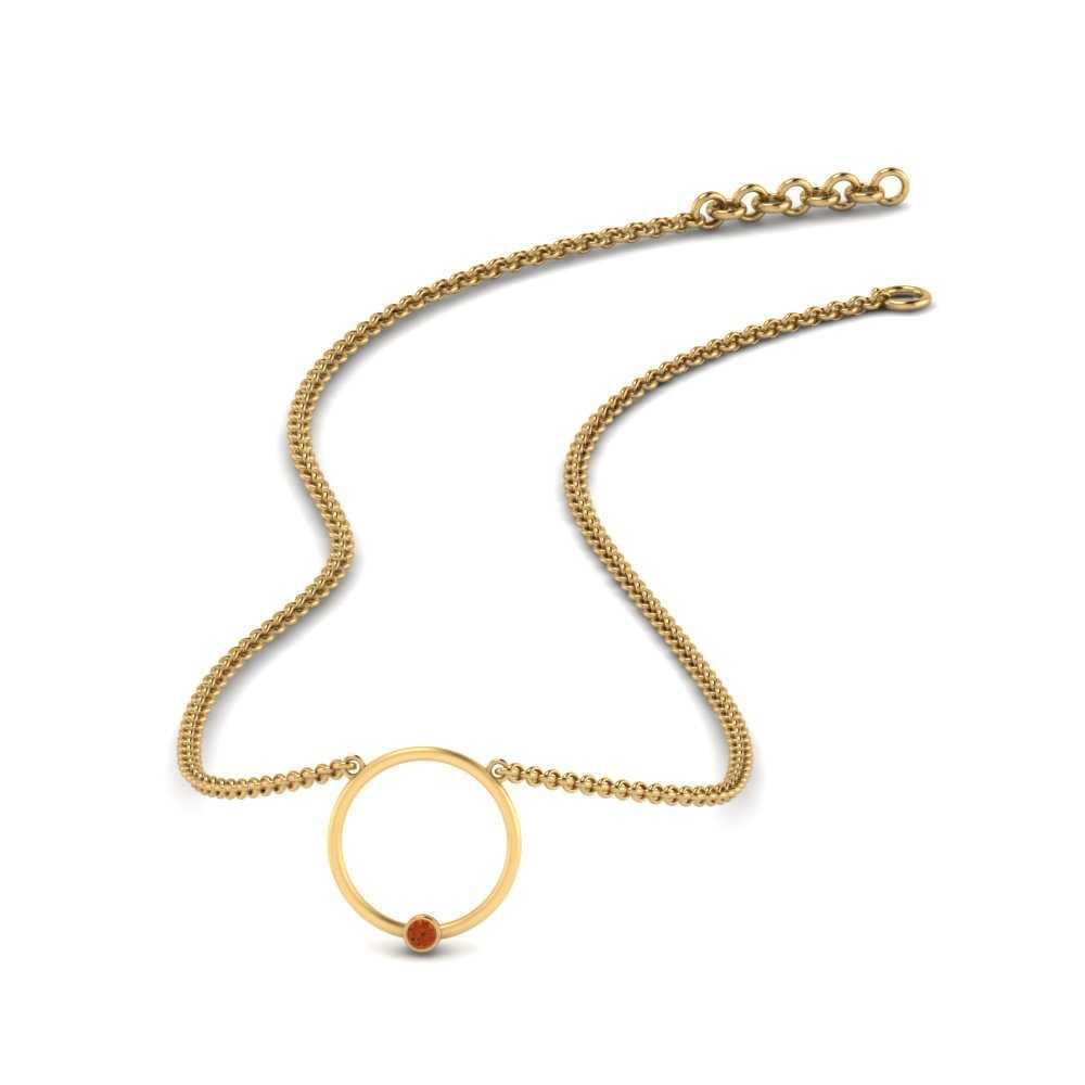 circle-orange-sapphire-stacking-pendant-in-FDPD86173GSAOR-NL-YG