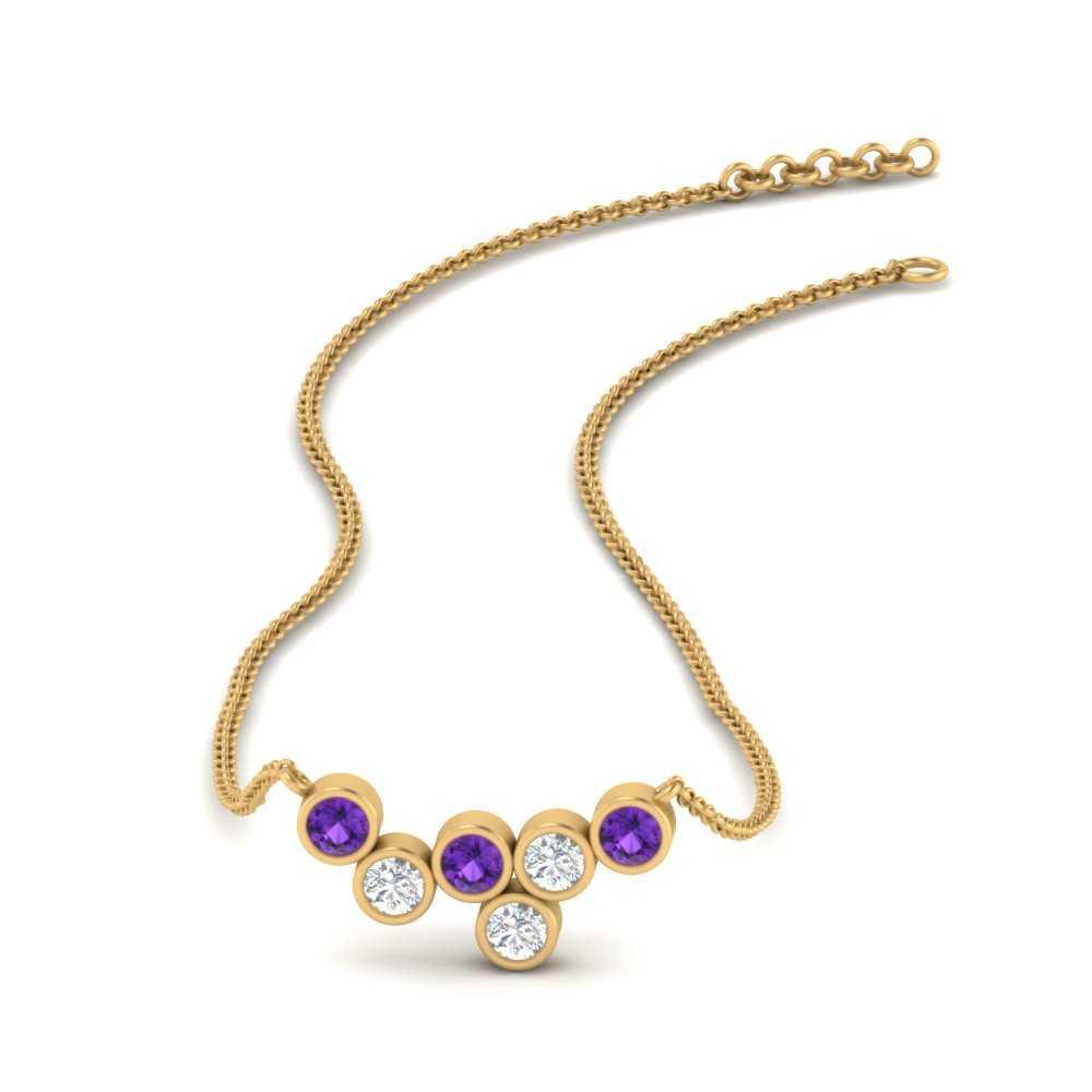 asymmetrical-round-diamond-bezel-pendant-with-purple-topaz-in-FDPD9715GVITO-NL-YG