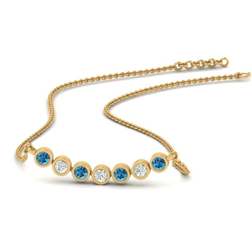 bezel-set-anniversary-blue-topaz-necklace-in-FDPD9737GICBLTO-NL-YG