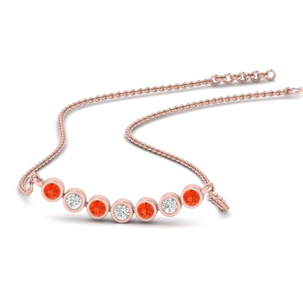 bezel-set-anniversary-orange-topaz-necklace-in-FDPD9737GPOTO-NL-RG