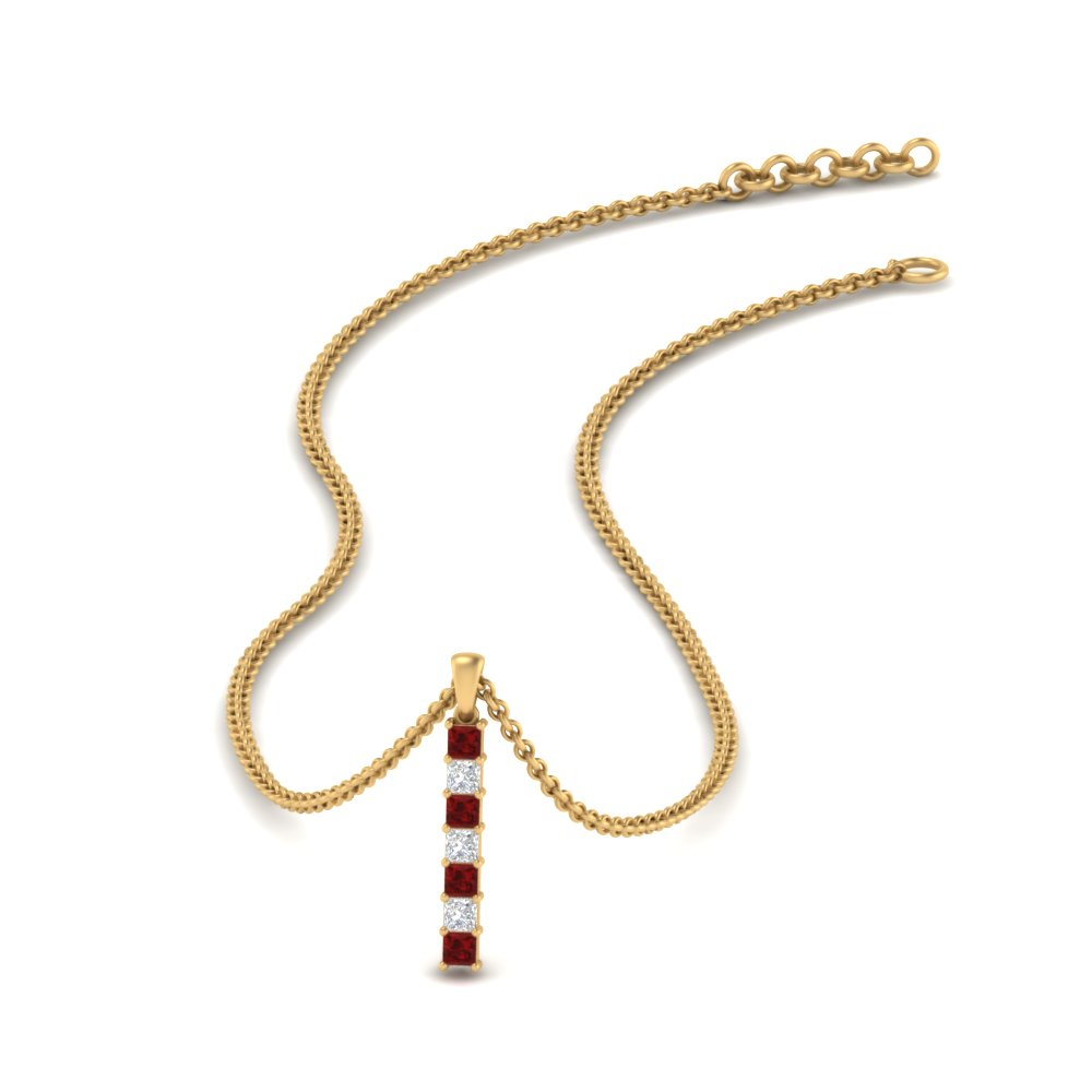 vertical-bar-affordable-diamond-pendant-with-ruby-in-FDPD9776GRUDR-NL-YG