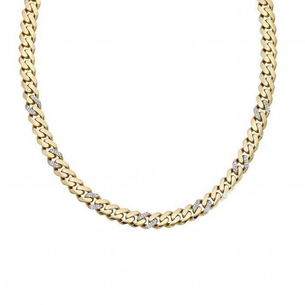 Cuban Pave Necklace For Men