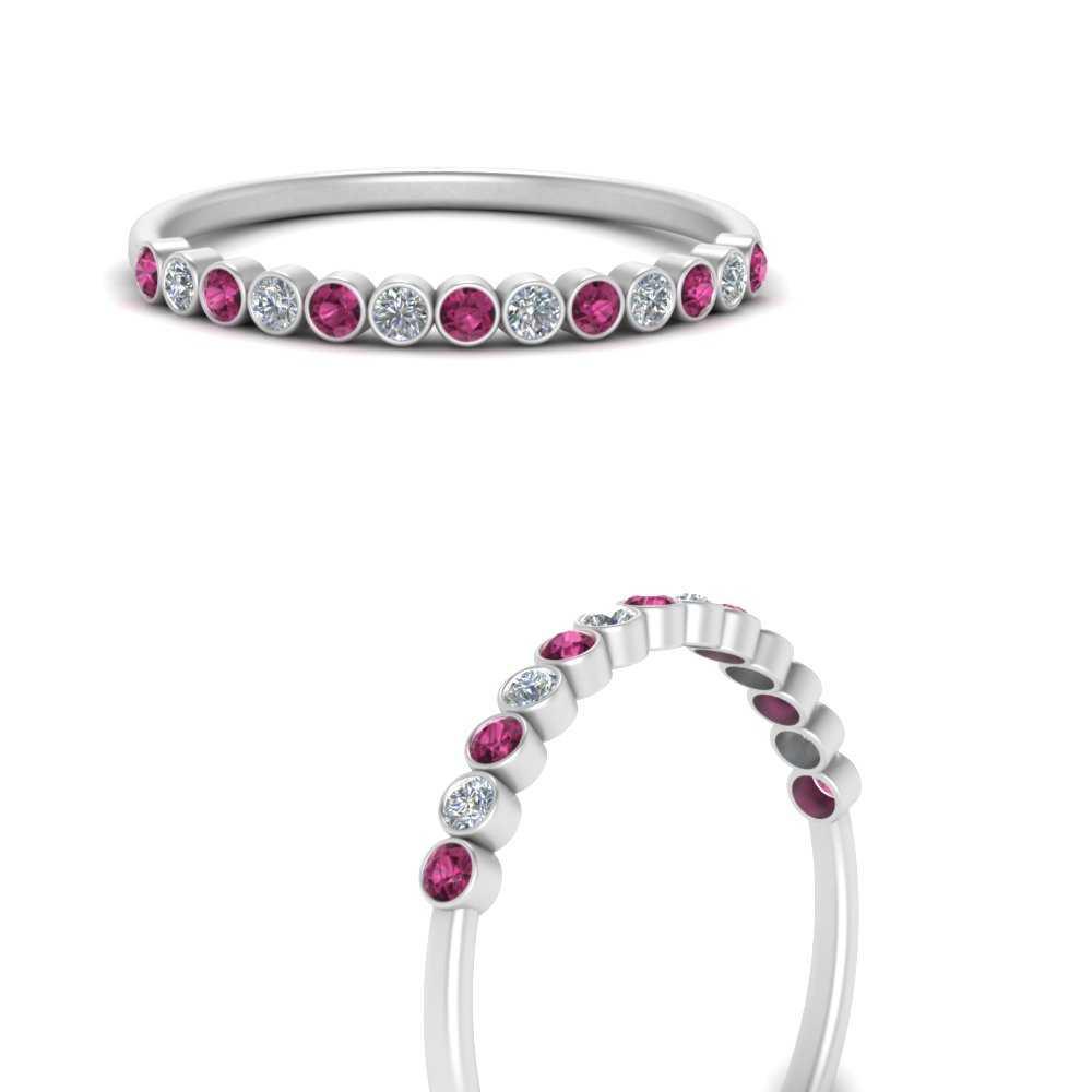 diamond-bezel-set-thin-stack-band-with-pink-sapphire-in-FDWB1408BGSADRPIANGLE3-NL-WG