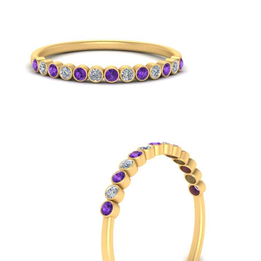 diamond-bezel-set-thin-stack-band-with-purple-topaz-in-FDWB1408BGVITOANGLE3-NL-YG