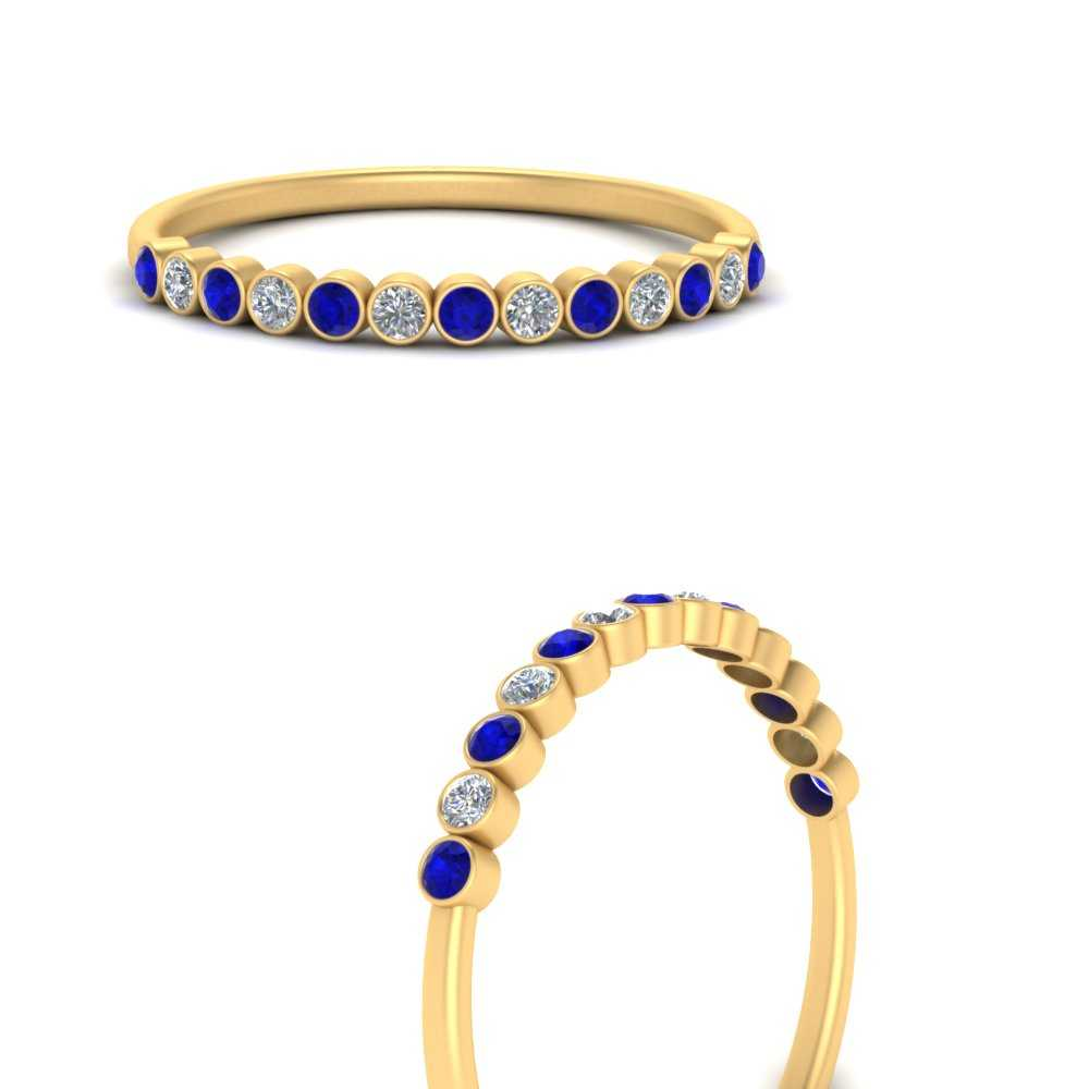 diamond-bezel-set-thin-stack-band-with-sapphire-in-FDWB1408BGSABLANGLE3-NL-YG