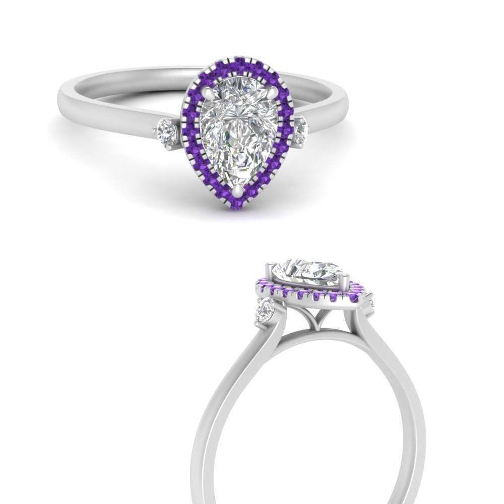 antique-halo-pear-purple-topaz-moissanite engagement-ring-in-FDENR8314PERGVITOANGLE3-NL-WG