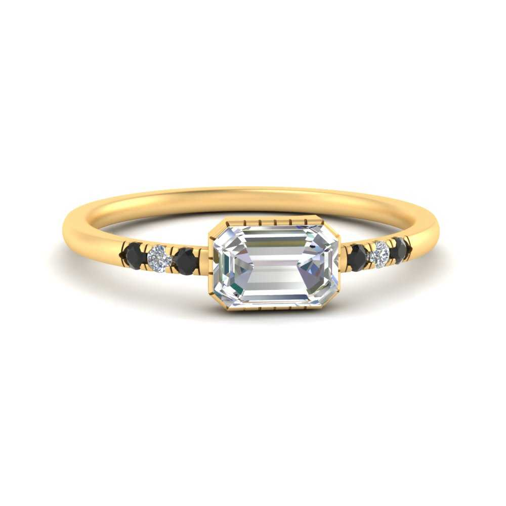 art-deco-east-west-moissanite engagement-ring-with-black-diamond-in-FDENR2639EMRGBLACK-NL-YG.jpg