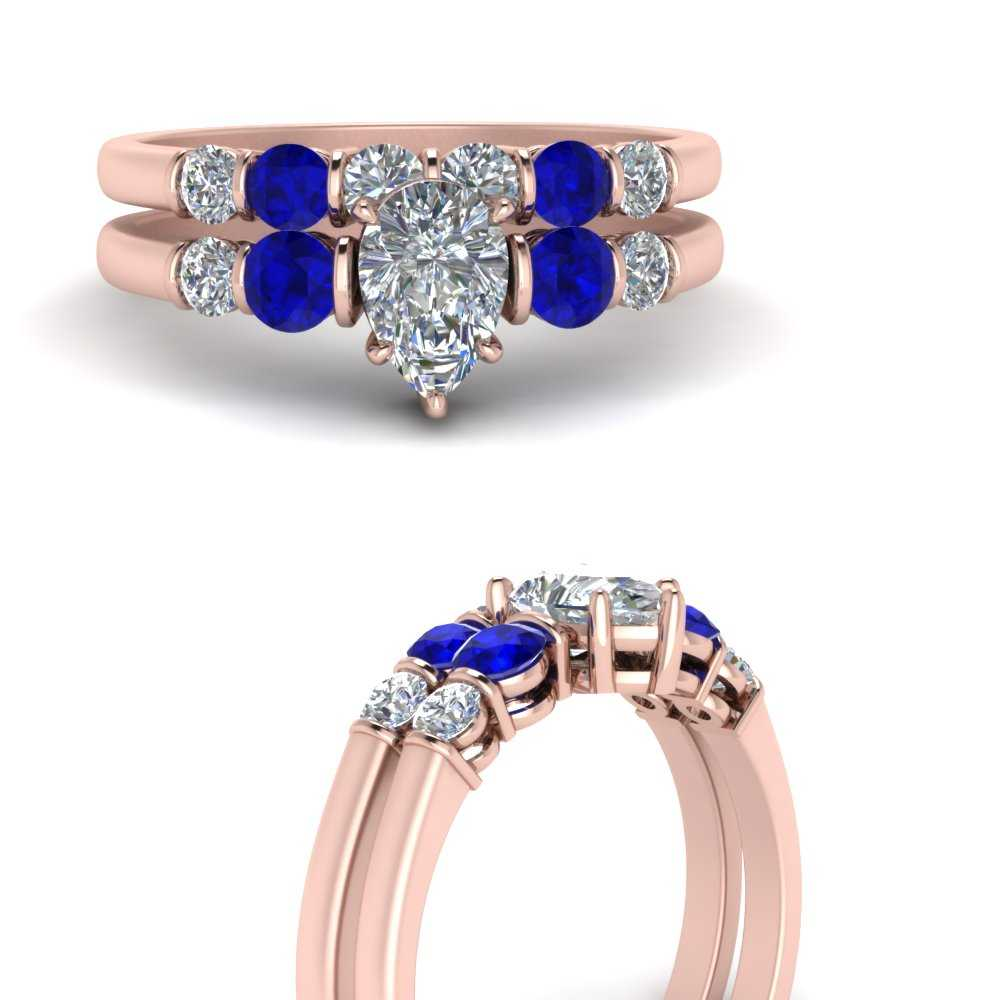 bar-set-pear-shaped-diamond-matching-wedding-band-with-sapphire-in-FDENS3072PEGSABLANGLE3-NL-RG
