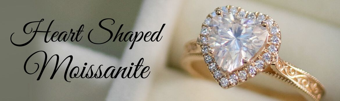 Heart Shaped Moissanite
