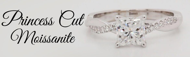 Princess Cut Moissanite