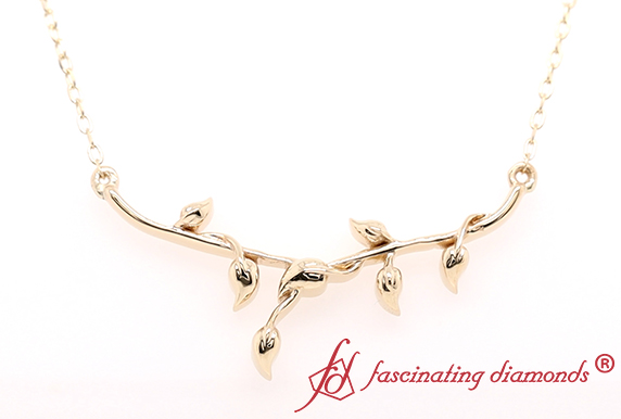 Leaf Necklace For Women