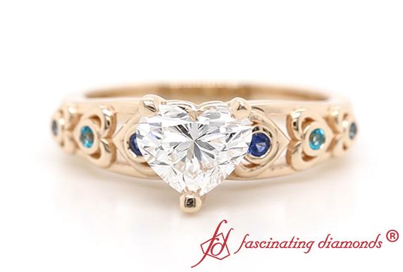 Ethical Heart Diamond Ring