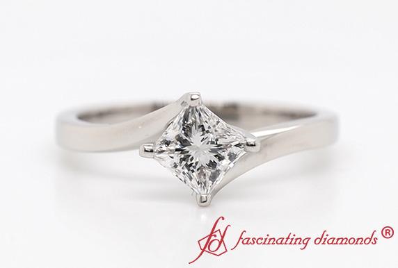 Kite Set Lab Diamond Ring
