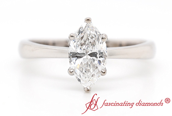 Tapered Traditional Solitaire Ring