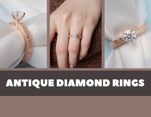 22 Antique Diamond Rings