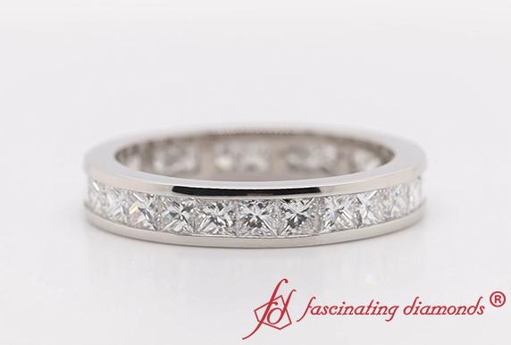 Princess Diamond Eternity Band
