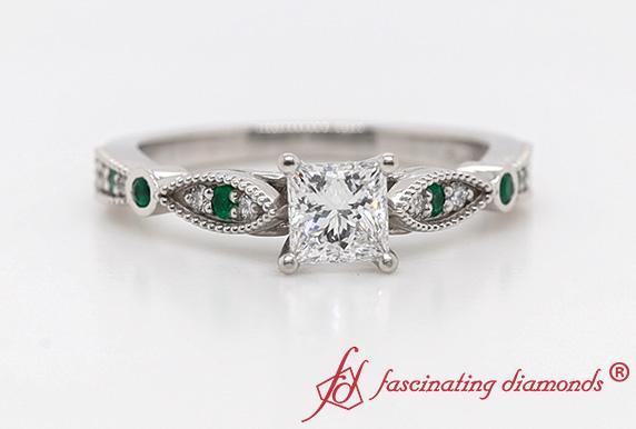 Delicate Art Deco Diamond Ring