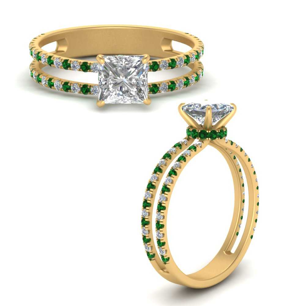 double-row-hidden-halo-princess-cut-diamond-engagement-ring-with-emerald-in-FD67818PRRGEMGRANGLE3-NL-YG.jpg