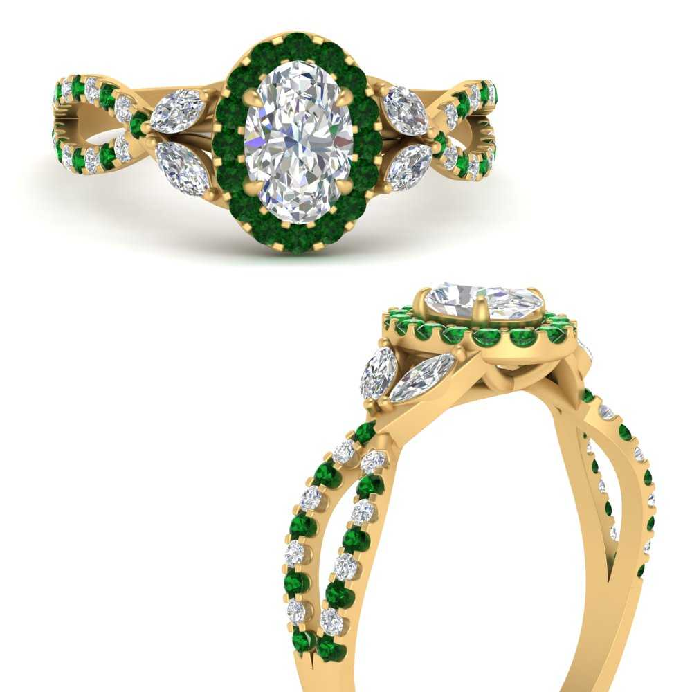 floral-halo-twisted-oval-shaped-diamond-engagement-ring-with-emerald-in-FDENS3303OVRGEMGRANGLE3-NL-YG